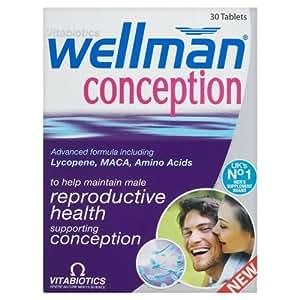 Vitabiotics Wellman Conception Tablets 30 Tablets