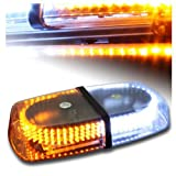 Exlight Emergency Hazard Warning LED Mini Bar Strobe Light w/ Magnetic Base