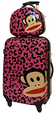 Paul Frank Twin Set Luggage Big Case and Vanity Case Combo