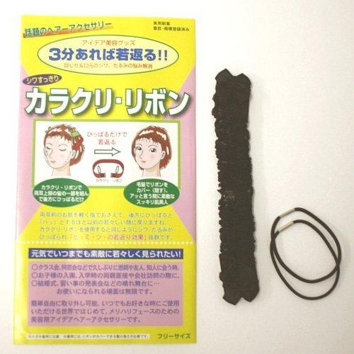 カラクリリボン タンポポ フリー 黒