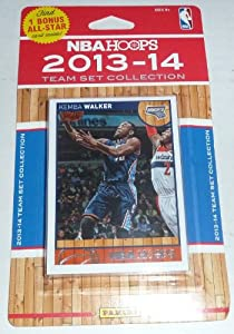 Buy Charlotte Bobcats Brand New 2013 2014 Hoops Basketball Factory Sealed 8 Card NBA Licensed Team Set by Charlotte Bobcats Team Set