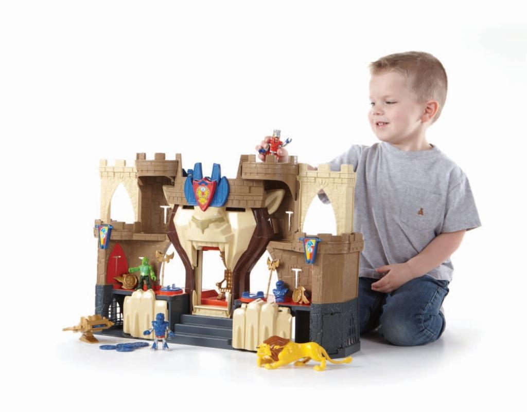 Amazon.com: Fisher-Price Imaginext Castle Lion's Den: Toys & Games
