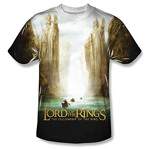 Lord Of The Rings Fellowship Poster All Over Front T-Shirt