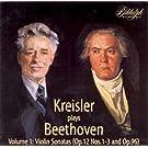 Beethoven: Sonates pour violon et piano (Int�grale, volume 1)