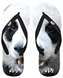 BEASTS Giant Panda Flip Flops - Black (XS,S,M,L,XL)