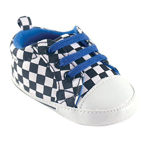 Luvable Friends, Stivaletti bambine Rosso Blue Checkered 6-12 mesi