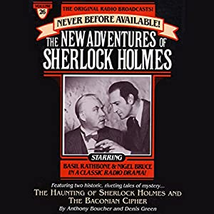 The Haunting of Sherlock Holmes and Baconian Cipher Radio/TV Program