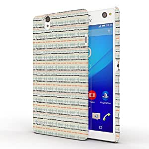 Koveru Back Cover Case for SONY XPERIA C4 - Material Pattern