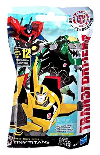 "Transformers Robots in Disguise Tiny Titans Series 2 2"" Mystery Pack - 1"