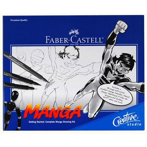 Faber-castell Getting Started Manga Comic Kit (Drawing Kit For Manga compare prices)