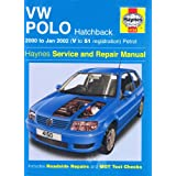 VW Polo Hatchback Petrol Service and Repair Manual: 2000-2002 (Haynes Service and Repair Manuals)by R. M. Jex