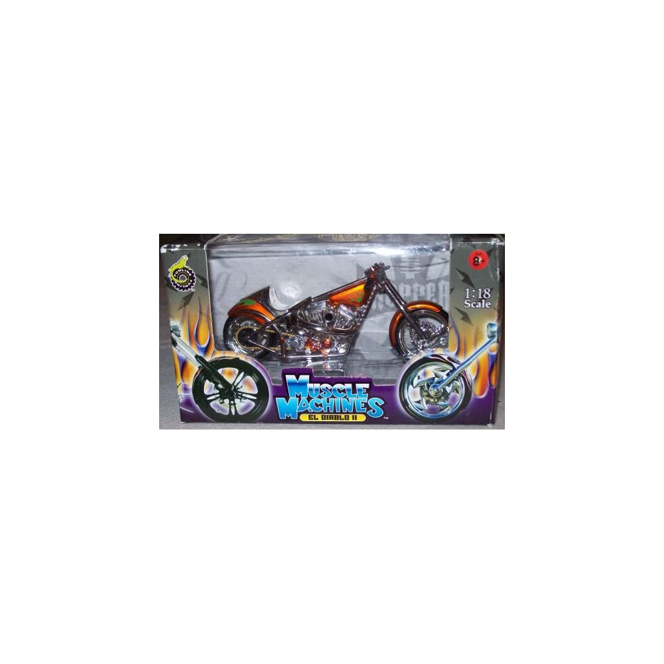 West Coast Choppers Jesse James 118 Scale   EL DIABLO II