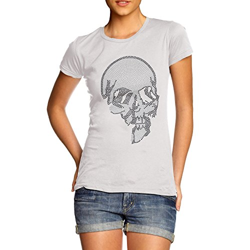 TWISTED ENVY -  T-shirt - Donna Bianco bianco