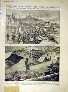 Guerra 1915 di Europa Asia Mesopotamia Costantinople Ww1