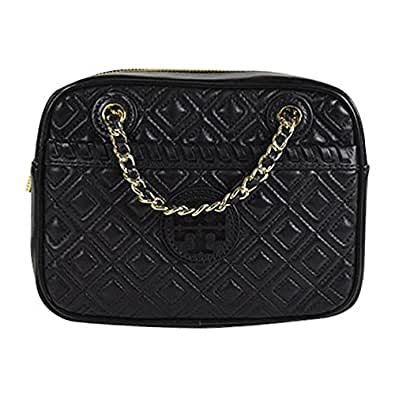 Tory burch marion quilted crossbody chain shoulder bag for Tory burch jewelry amazon