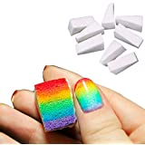 FUNOC® 8PCS Womens Nail Art Sponge Stamp Stamping Polish Transfer DIY Manicure Supplies