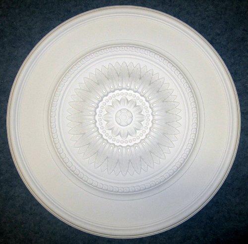Gaudi Décor 30 Inch Ceiling Medallion Primed White Polyurethane Randee #R308