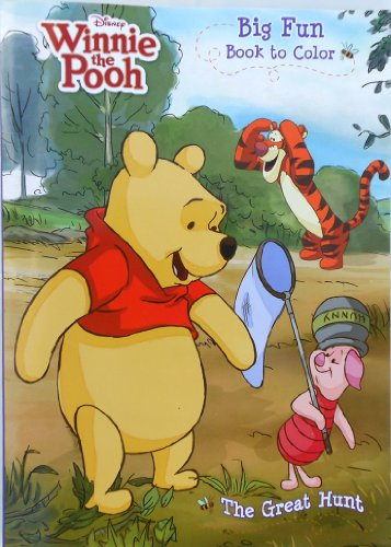 "Disney® Winnie the Pooh ""The Great Hunt"" Coloring Book"