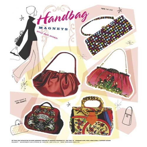 Blue Q Handbags Magnet Set