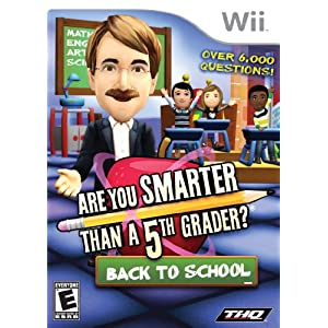 Are You Smarter Than a 5th Grader: Back to School