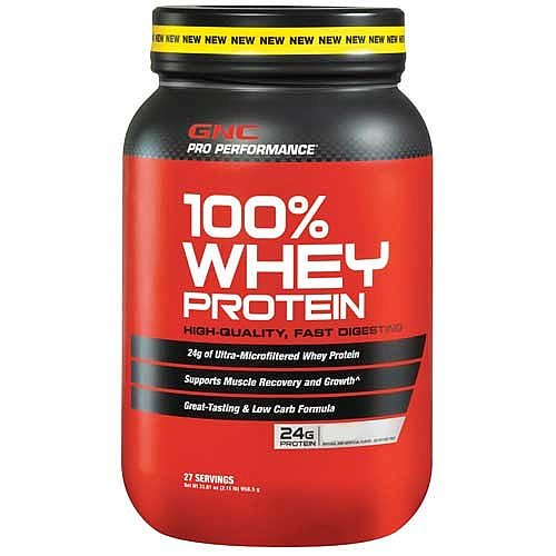 Gnc Pro Performance 100% Whey Protein, Cookies & Cream 27 Servings 32.67 Oz
