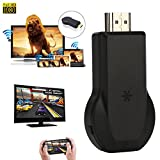 Tera® 超小型 ワイヤレス ディスプレイレシーバー wifi display receiver FullHD 1080p Airplay Miracast DLNA対応 IOS  Android  Windowsシステム通用
