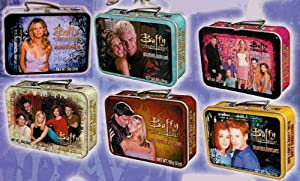 Buffy The Vampire Slayer Mini Lunch Box Tin With Bubble Gum Set Of 6 from DART FLIPCARDS INC