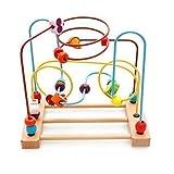 Kaylee & Ryan Circle Bead Maze Wooden Toys for Kids