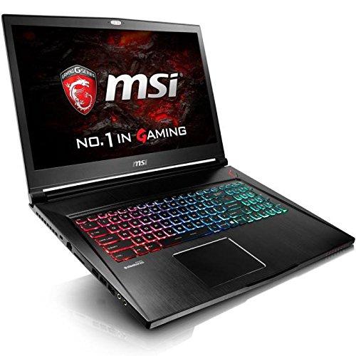 "MSI GS73VR 6RF Stealth Pro -015FR Ordinateur Portable Hybride 17,3"" Noir (Intel Core_i7, 16 Go de RAM, 1 To, Nvidia GeForce GTX1060 GDDR5, Windows 10)"