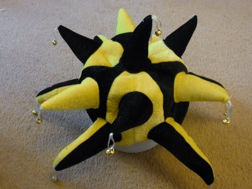 Cambridge United Jester Hat for Fancy Dress Yellow and Black (Cambridge United compare prices)