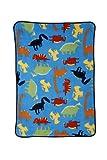 Carters Toddler Printed Coral Fleece Blanket, Prehistoric Pals