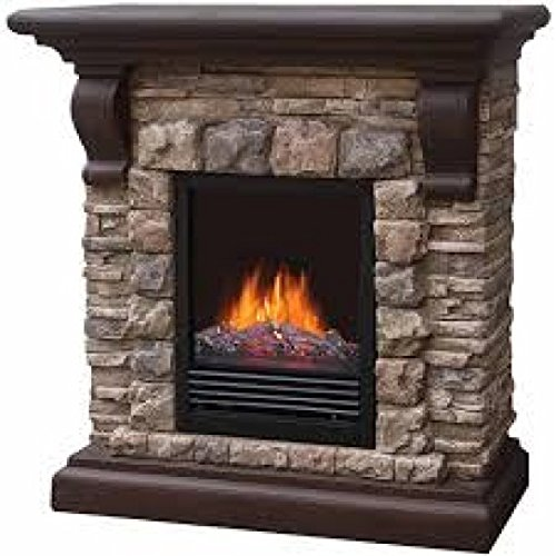 Electric Fireplace Color Tan