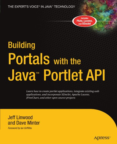 Building Portals With The Java Portlet Api (Expert'S Voice)