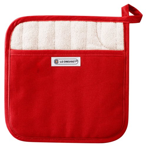 Le Creuset Square Potholder, Cherry back-618113