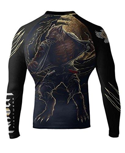 Men's Werewolf Long Sleeve Rash Guard