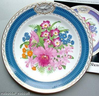 RHS 1985 Chelsea Flower Show Plate Spode