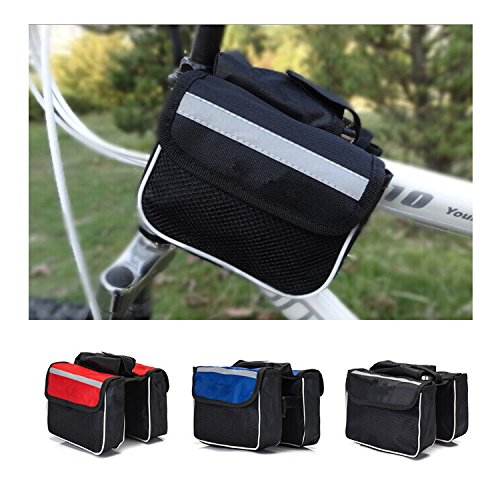 Front Bag Pannier Rack Bag Basket Bike Bicycle Cycling