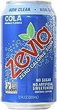 Zevia Zero Calorie Soda, Cola, Naturally Sweetened, (Pack of 24)