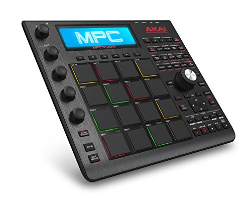 Akai Professional MPC Studio Black | Music Production Controller with 9+GB Sound Library Download [Current Model] (Studio Controller compare prices)