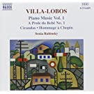 Villa-Lobos-Piano Works, Vol 1