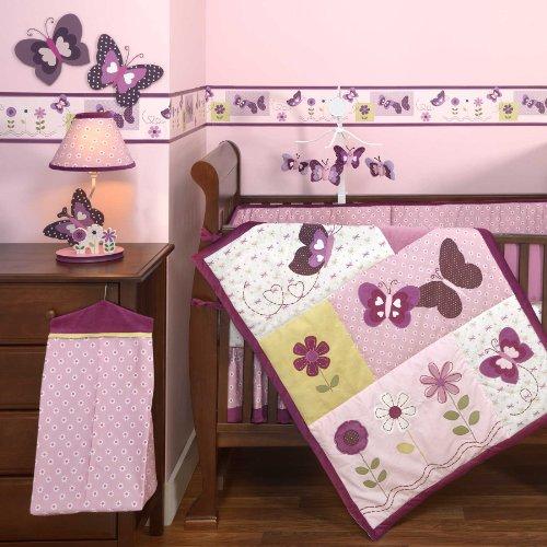 Provence 4 Piece Crib Bedding Set W/Bumper By Bedtime Originals front-1079723