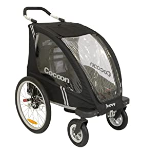 Joovy Cocoon Enclosed Single Stroller Black (Discontinued by Manufacturer)