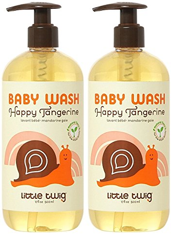 Little Twig Baby Wash Tangerine 8.5oz- 2Pack