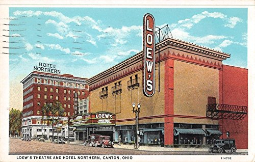 canton-ohio-view-of-loews-theatre-hotel-northern-antique-pc-y8812