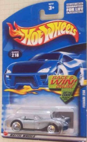 #2001-218 Ferrari 250 Mattel Hot Wheels 1:64 Scale Collectible Die Cast Car