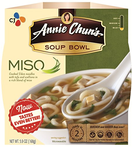 Annie Chun's Soup Bowl, Miso, 5.9 Ounce (Pack of 6) (Miso Salt compare prices)