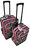 2-Pieces-Mossy-Oak-Luggage-Set-with-Pink-Trim-20-24