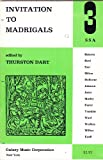 img - for Invitation to Madrigals (3 SSA) book / textbook / text book