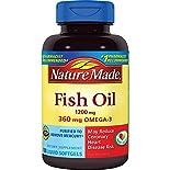 Nature Made Fish Oil, 1200 mg, Liquid Softgels, 100 softgels