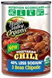 Health Valley Organic Chili Three Bean Chipotle, 15 Ounce Cans (Pack of 12)
